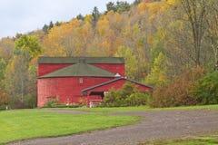 Granaio rotondo di Catskills Fotografia Stock