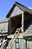 granaio rurale con la scaletta Immagini Stock