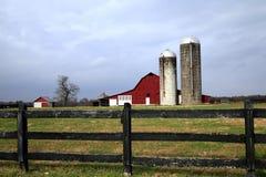 Granaio rurale Tennessee fotografia stock