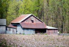 Granaio rustico nel sud-ovest Michigan Fotografia Stock