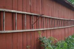 Granaio svedese rosso di Falu Fotografie Stock