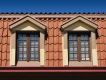 Granaio Windows Fotografia Stock