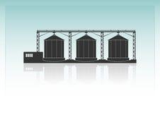 Granaries royalty free stock photo