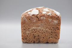 Granary Bread on gray background Royalty Free Stock Image