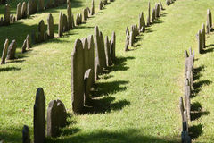 Granary Burying Ground in Boston Stock Photo