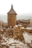 Granary in a Dogon village, Mali (Africa). Royalty Free Stock Images