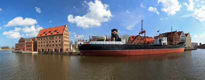 Granary island in Gdansk Royalty Free Stock Images