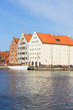 Granary island in Gdansk, Poland Stock Photography