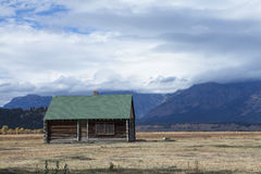 The Granary. On the John Moulton homestead Stock Photos