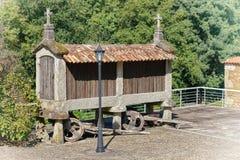Granary, Portugal. Traditional granary alongside the Camino de Santiago, Portugal Royalty Free Stock Photography