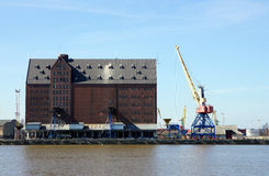 Granary Shipping Port Stock Image