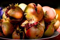 Granatäpfel Lizenzfreies Stockbild