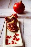 granatäpfel lizenzfreie stockbilder