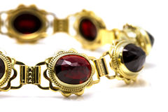 Granat bracelet Royalty Free Stock Photography