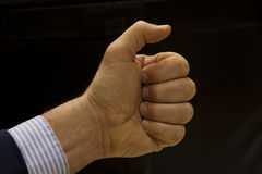 Granat Ręczny pięść Obraz Royalty Free