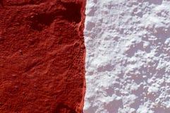 Granat und Weiß stockbilder
