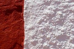 Granat und Weiß stockfoto