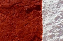 Granat und Weiß lizenzfreie stockbilder