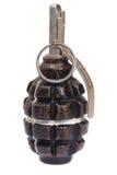 granata ręki ananasowi dwa sowieci wojenny świat Obraz Royalty Free