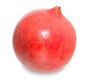 Granatapfel auf lokalisiertem Hintergrund Lizenzfreie Stockfotos