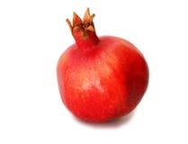 Granatapfel auf weißem Hintergrund Lizenzfreie Stockfotos