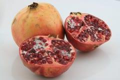 Granatapfel cuted Stockbild