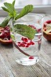 Granatapfel Detoxwasser Lizenzfreies Stockfoto