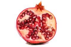 Granatapfel getrennt Lizenzfreies Stockbild
