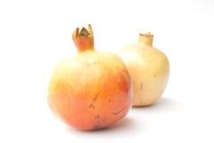 Granatapfel lokalisiert auf weißem Hintergrund Stockfotografie