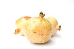 Granatapfel lokalisiert auf weißem Hintergrund Lizenzfreies Stockbild