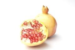 Granatapfel lokalisiert auf weißem Hintergrund Lizenzfreie Stockbilder