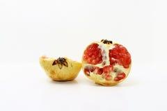 Granatapfel mit Restlichtfähigkeiten Stockfotos