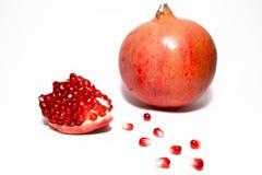 Granatapfel mit Startwerten für Zufallsgenerator Lizenzfreie Stockfotografie