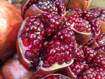 Granatapfel, nicht der Rubin Lizenzfreie Stockbilder