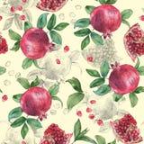 Granatapfel und Nelke 2 Stockbilder