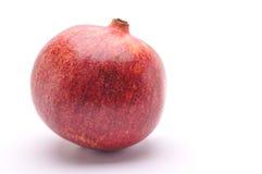 Granatapfelfrucht auf einem weißen Hintergrund stockfotos