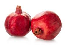 Granatapfelfrucht reif stockbilder