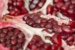 Granatapfelfruchtmakro Lizenzfreie Stockbilder