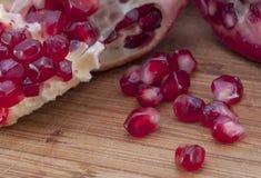 Granatapfelsamen Lizenzfreies Stockfoto