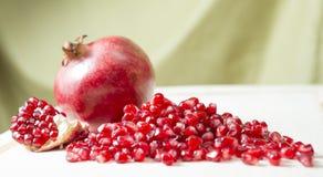 Granatapfelstartwerte für zufallsgenerator Lizenzfreies Stockfoto