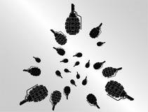 granatillustration Royaltyfri Fotografi