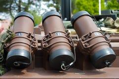 granatlauncherrök arkivbild