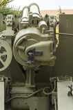 Granatnik 155/23 1943, machinalny holuje: odbiorca, Zdjęcie Royalty Free