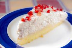 Granatowiec chałupy cheesecake Zdjęcie Royalty Free