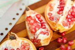 Granatowiec owoc Zdjęcia Royalty Free
