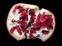 Granatowiec owoc w bąblach Obrazy Royalty Free