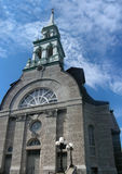 Granby Church. A pretty stone church in the Eastern Townships, Granby, Quebec Royalty Free Stock Photography
