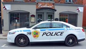 Granby-Polizeiwagen stockbilder