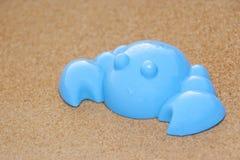 Granchio blu del giocattolo Immagine Stock
