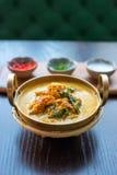 Granchio giallo del curry Immagini Stock Libere da Diritti
